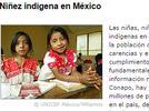 Niños indígenas en México