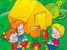 Campamento en preescolar