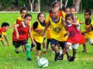 Identificar que las niñas y los niños pueden realizar diversos tipos de actividades y que es importante la colaboración de todos en una tarea compartida, como jugar canicas o futbol