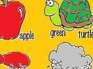 Palabras, dibujos y colores