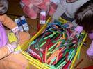 Colores, formas y materiales