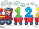 Tren de números