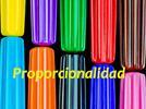 Problemas de proporcionalidad resueltos por regla de tres compuesta.