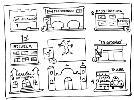 Explicar cómo ve objetos y personas desde diversos puntos espaciales