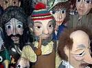 Realización de una puesta en escena para títeres o marionetas.