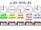 El tiempo y los niños preescolares. La duración