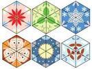 Trazo de triángulos y cuadriláteros mediante el uso del juego de geometría