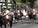 Desfile celebración del centenario de la Revolución Mexicana