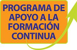 Programa de apoyo a la formación continua (PAFC)